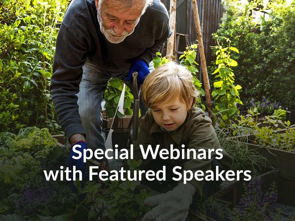 Special Webinars with Featured Speakers